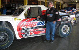 Amsoil Dealer - Kent Whiteman and Amsoil Sponsored Race Truck