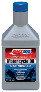 SAE 10W-40 Synthetic Motorcycle Oil (MCF)