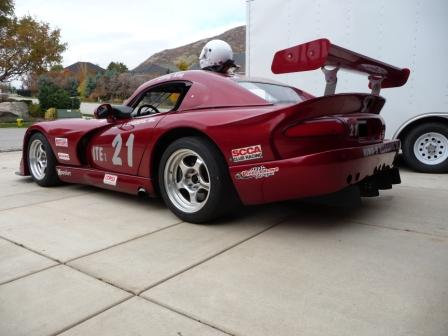 Amsoil Sponsored Dodge Viper Road Race Car - SCCA ITE Record Holder