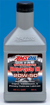 Amsoil Motor Cycle Oil Review 20w-50